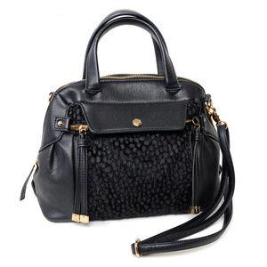 Casselini Black Shoulder Bag Purse